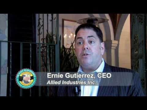 2011 John Aguilar Procurement Award - Ernesto Gutierrez, Allied Industries, Inc.
