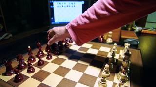 Dubrovnik DGT Red Chess Set
