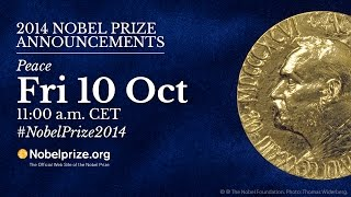 Live: Announcement of the Nobel Peace Prize 2014
