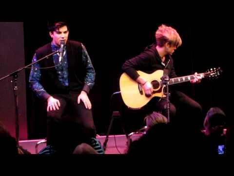 Adam Lambert - Whataya Want From Me Acoustic live