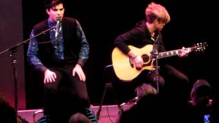 Скачать Adam Lambert Whataya Want From Me Acoustic Live