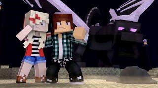 OYUN | Animasyon duvar Kağıdı Minecraft Şarkı ♫ - SON