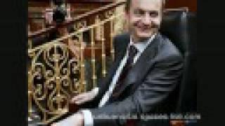 Zapatero, mintiendo y riendo