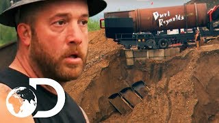 Disaster Strikes As Rick Ness Sets Up His New Wash Plant! | NEW Gold Rush Season 9