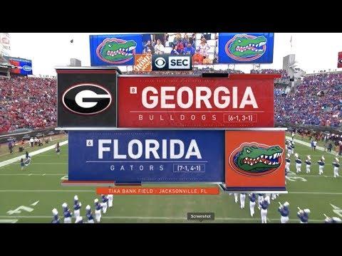 2019 #8 Georgia Vs #6 Florida