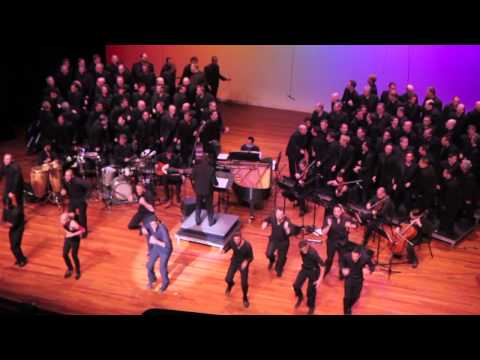 "New York City Gay Mens Chorus Sings ""Sexual Revolution"" At Now What?"