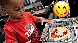 Download COOKING WITH BABY DJ (PART 1) | THE PRINCE FAMILY Mp3 and Videos