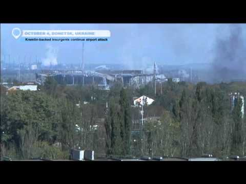 Battle For Donetsk Airport: Russian-backed forces continue airport attack
