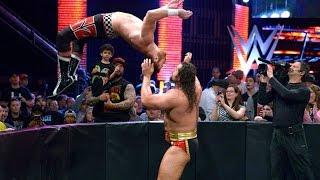 Sami Zayn vs Rusev Intercontinental Championshi Raw Nov 7/2016