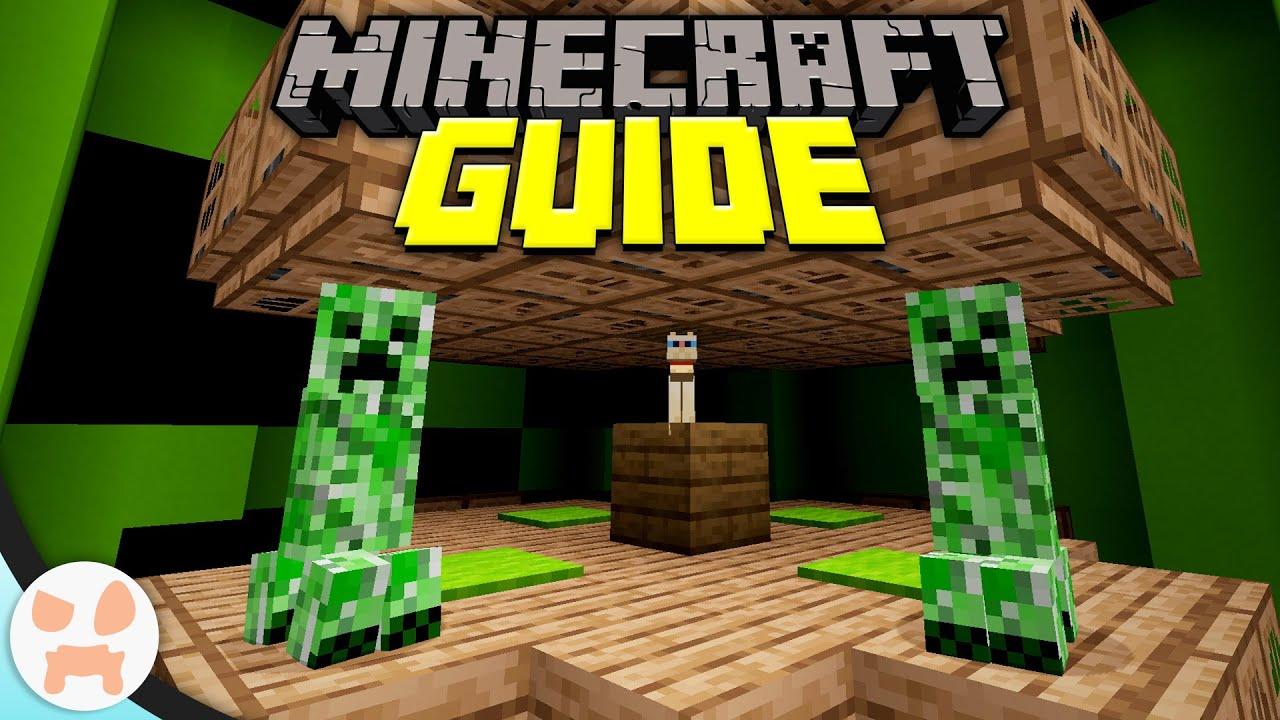 Easy Creeper Farm Minecraft Guide Episode 72 Minecraft 1 15 2