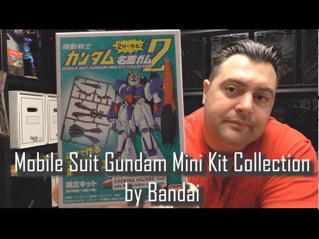 Review N' Build - Mobile Suit Gundam Mini Kit Collection