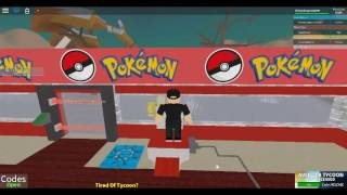 Playin' 'Pokemon Tycoon' in ROBLOX