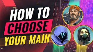 How to Choose Your PERFECT MAIN Agent - Valorant