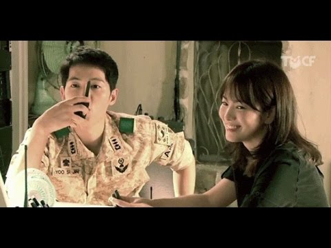 Song Joong Ki x Song Hye Kyo | Descendants of the Sun | Behind The Scenes | Cute Moments