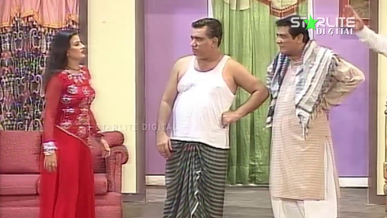 Nasir Chinyoti and Naseem Vicky New Pakistani Stage Drama Full Comedy Funny Clip