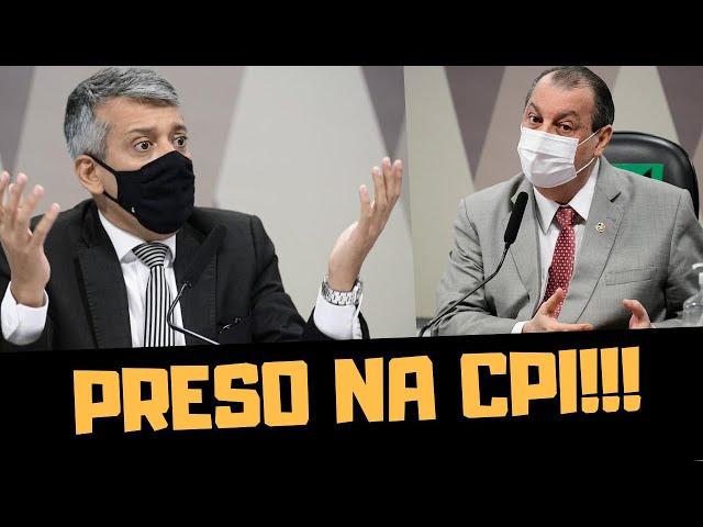 PRISÃO NA CPI!!!
