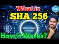 What is a Bitcoin hash and SHA-256 - YouTube
