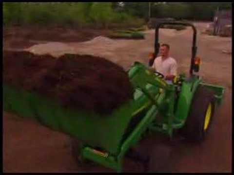 John Deere 4520 Compact Utility Tractor Short - YouTube