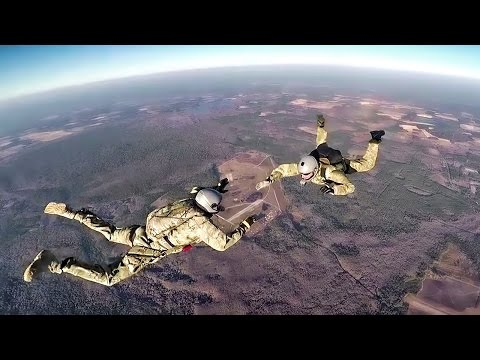 Air Force Pararescuemen Jump • GoPro Video