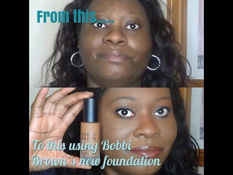 Bobbi Brown Skin Longwear Weightless Foundation Oily Skin Work Day Wear Test