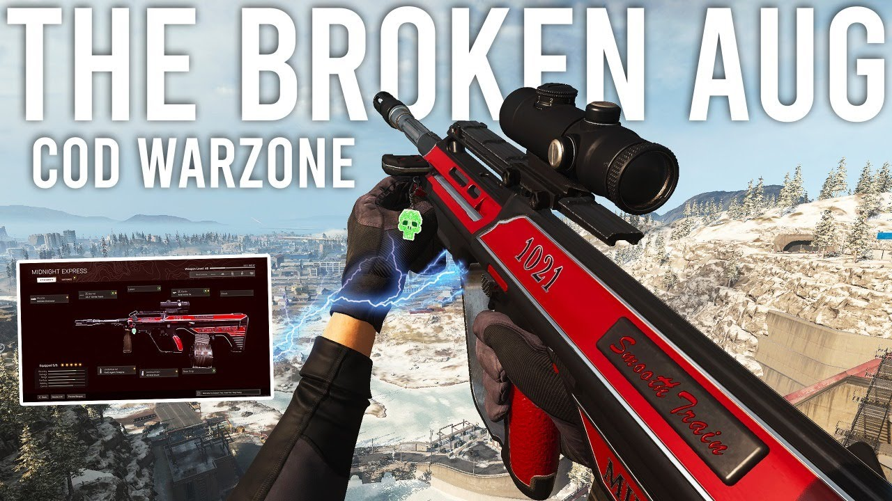Download Using the BROKEN AUG in Call of Duty Warzone!