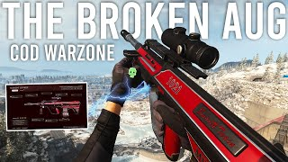Using the BROKEN AUG in Call of Duty Warzone!