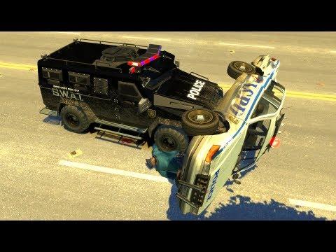 GTA 4 SWAT Van Gameplay