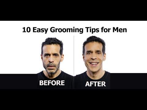10 Easy Grooming Tips For Men Youtube