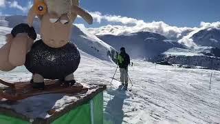 Alpe d'Huez en direct sur les pistes le 28/12/2017