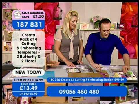 create and craft tv 20.6.11 carley & Creata - YouTube
