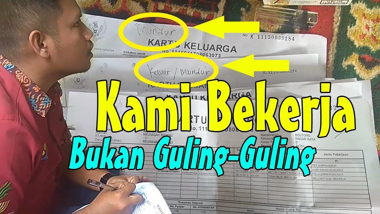 Agar Data PKH Valid, Pendamping Lakukan Proses Pemutakhiran Data Peserta KPM Desa Meunasah Krueng