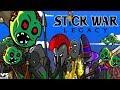 Stick War Legacy Endlles Mode Zombie APK 2018: HACK UNLIMITED GEMS FHD EP#2