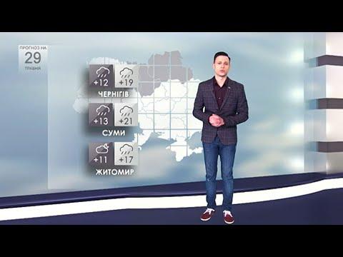 Погода в Україні на 29 травня 2020