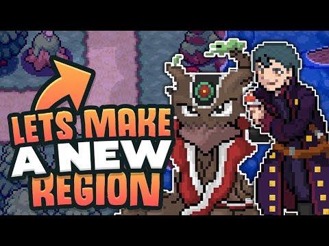 Let's Make A New Pokemon Region? (My Pokemon Region) #01
