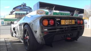 ULTRA RARE McLaren F1 GTR on the road! INSANE SOUNDS