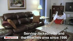 Welcome to Many Maids of Jacksonville Fl.