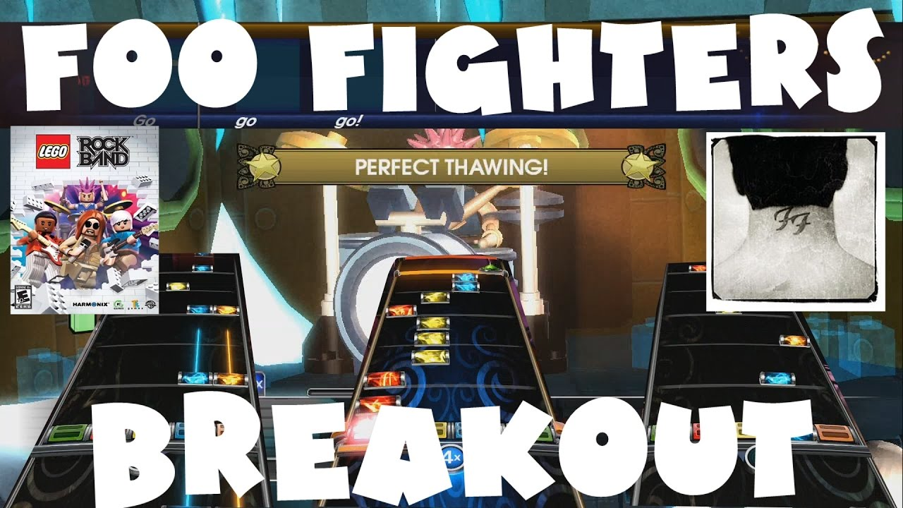 Foo Fighters - Breakout - LEGO Rock Band Expert Full Band