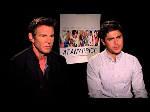 At Any Price (2013) Exclusive: Zac Efron and Dennis Quaid (HD) Zac Efron, Dennis Quaid