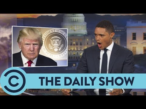 Trump Throws Shade At Jeff Sessions - The Daily Show | Comedy Central