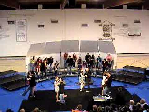 "Pusch Ridge Christian Academy High School Choir ""Build me up Butter Cup"" Fall 2010"