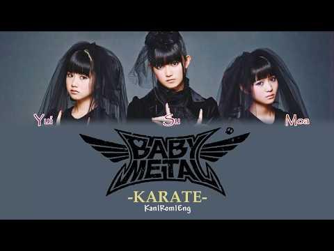BABYMETAL - KARATE (Kan/Rom/Eng Lyrics) カラオケ| 歌詞付き