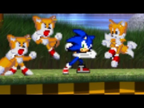 Let's Play When Tails Gets Bored Part 3: Sonic Vs  Tails, Tails and Tails!