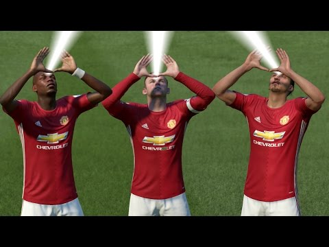 FIFA 17 ALL CELEBRATIONS TUTORIAL | Xbox And Playstation