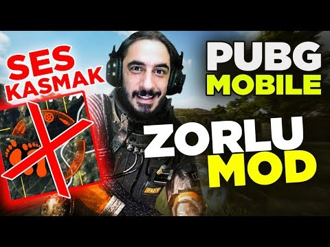 ZORLU MOD VE EFSANE MAÇ - PUBG Mobile