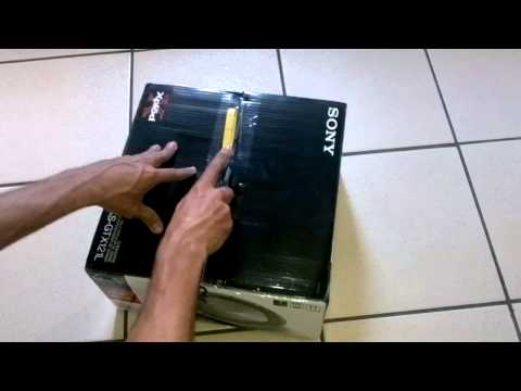 "Unboxing Subwoofer Sony 12"" - XS-GTX121L"