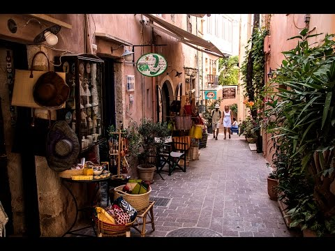 The charm of the old city  Chania   (Crete )