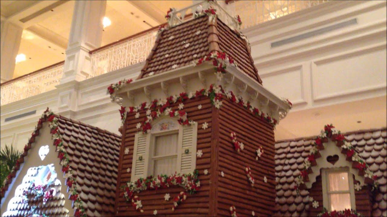 Disney hotel christmas decorations - Christmas Decorations At Disney S Grand Floridian Resort