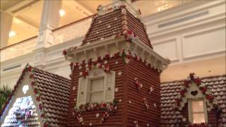 Christmas Decorations At Disney's Grand Floridian Resort