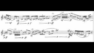 Luciano Berio (1925 - 2003) - Sequenza IXa (1980) for clarinet solo (w/ score)