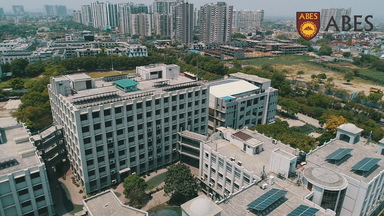 Aerial View ABES Engineering College | - YouTube